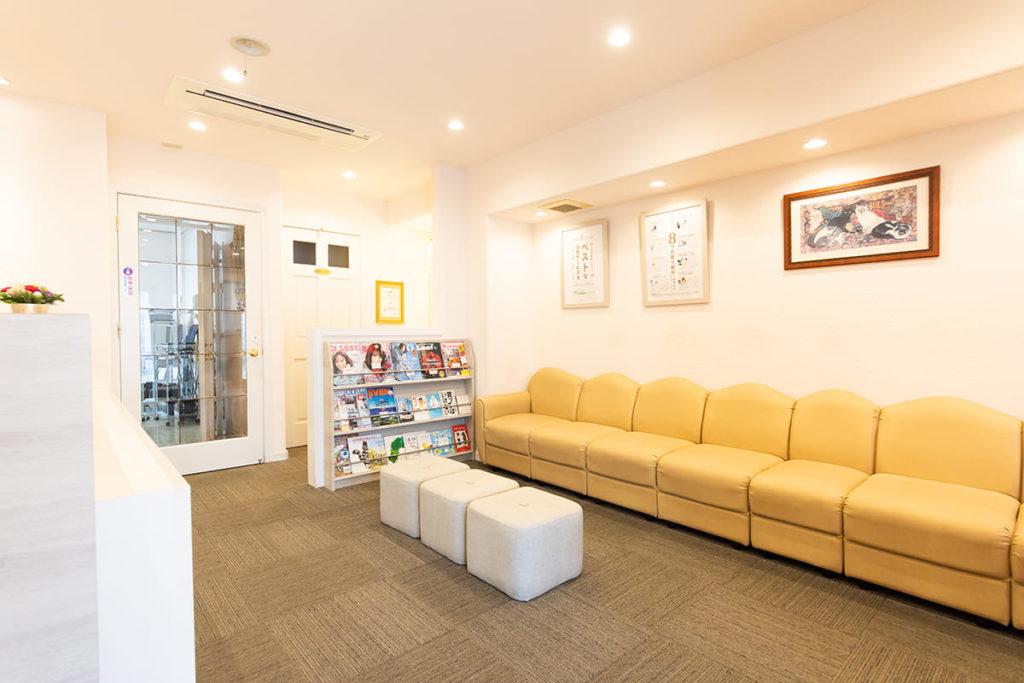待合室 京都市伏見区のしっかり相談できる歯医者、訪問診療|本田歯科クリニック