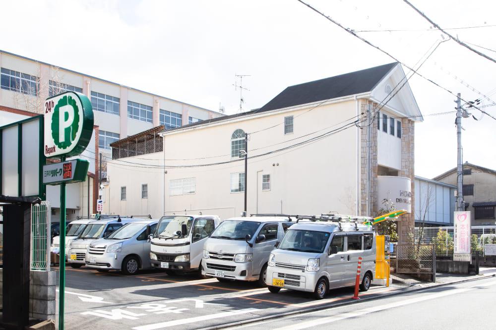 駐車場 京都市伏見区のしっかり相談できる歯医者、訪問診療|本田歯科クリニック