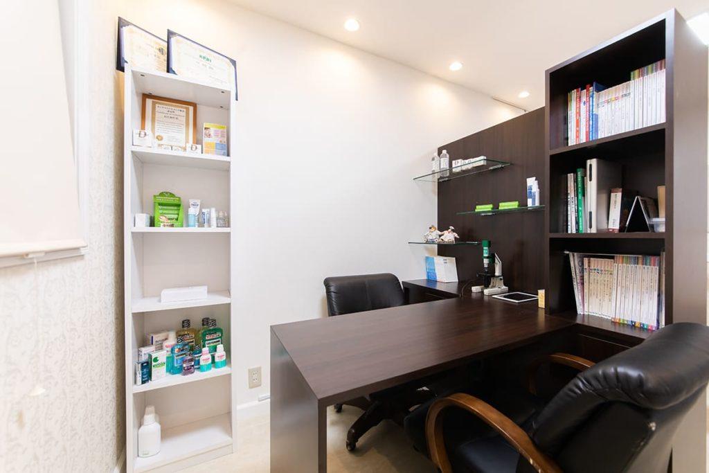 カウンセリングルーム 京都市伏見区のしっかり相談できる歯医者、訪問診療|本田歯科クリニック